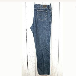 Lee Relaxed Fit Men's Jeans Cotton Blue Wash 44x34